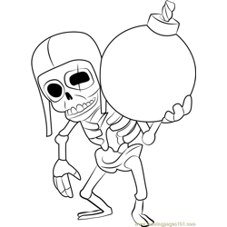 Wall Breaker Free Coloring Page for Kids