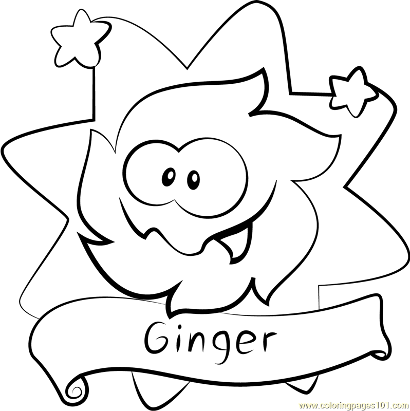 Ginger Coloring Page