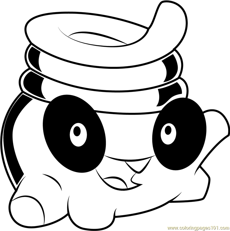 Toss Coloring Page Free Cut the Rope Coloring Pages