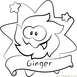 Ginger Free Coloring Page for Kids