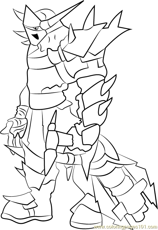 Marauders Coloring Page