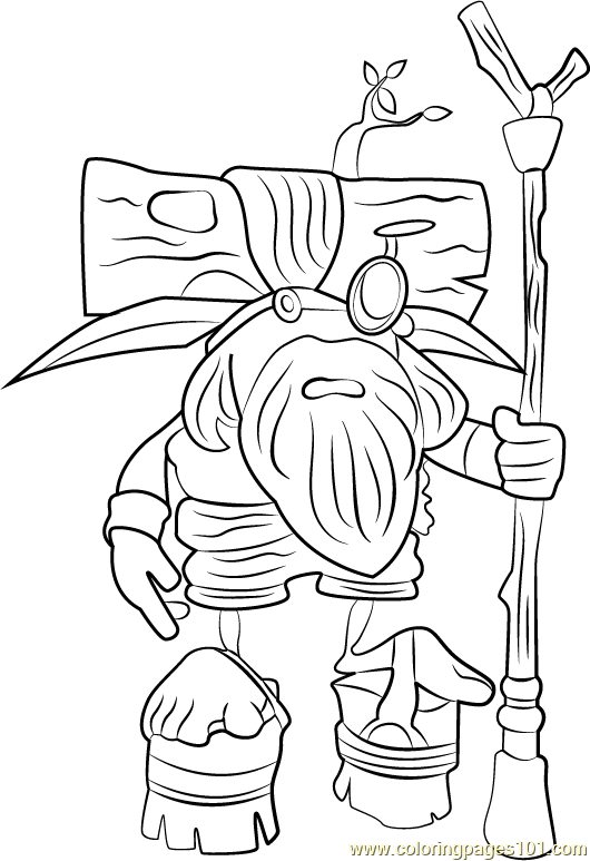 Samos the Sage Coloring Page