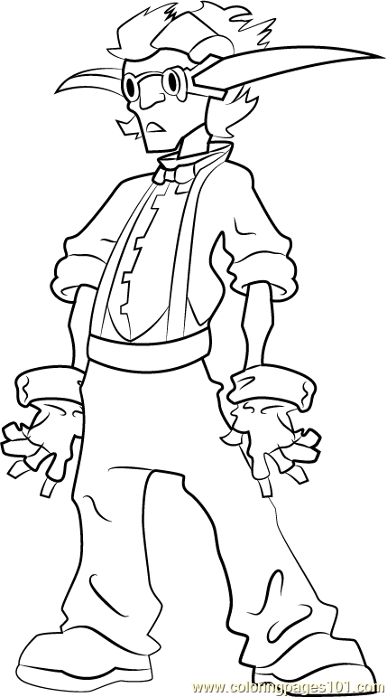 Vin Coloring Page