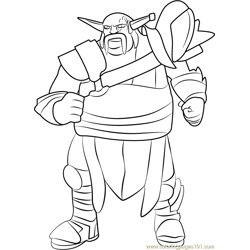 Kleiver coloring page