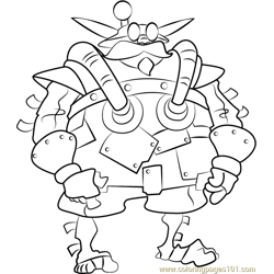 Red Sage coloring page