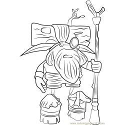 Samos the Sage Free Coloring Page for Kids