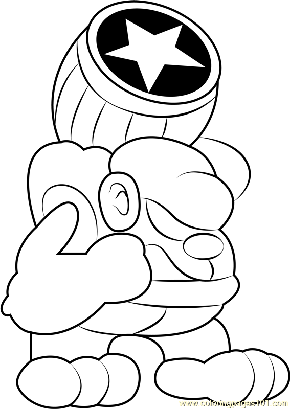 Bonkers Coloring Page