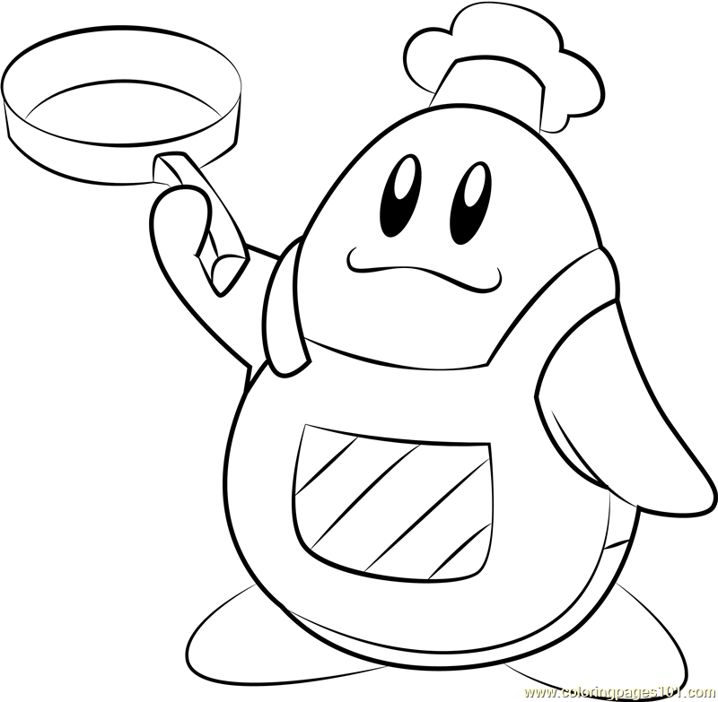 chef mickey coloring pages - photo#12