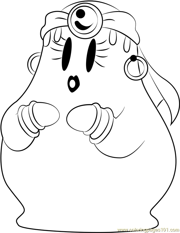 Mabel Coloring Page