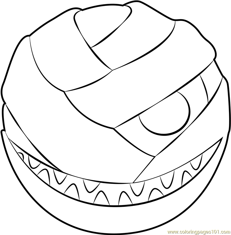 Mumbies Coloring Page