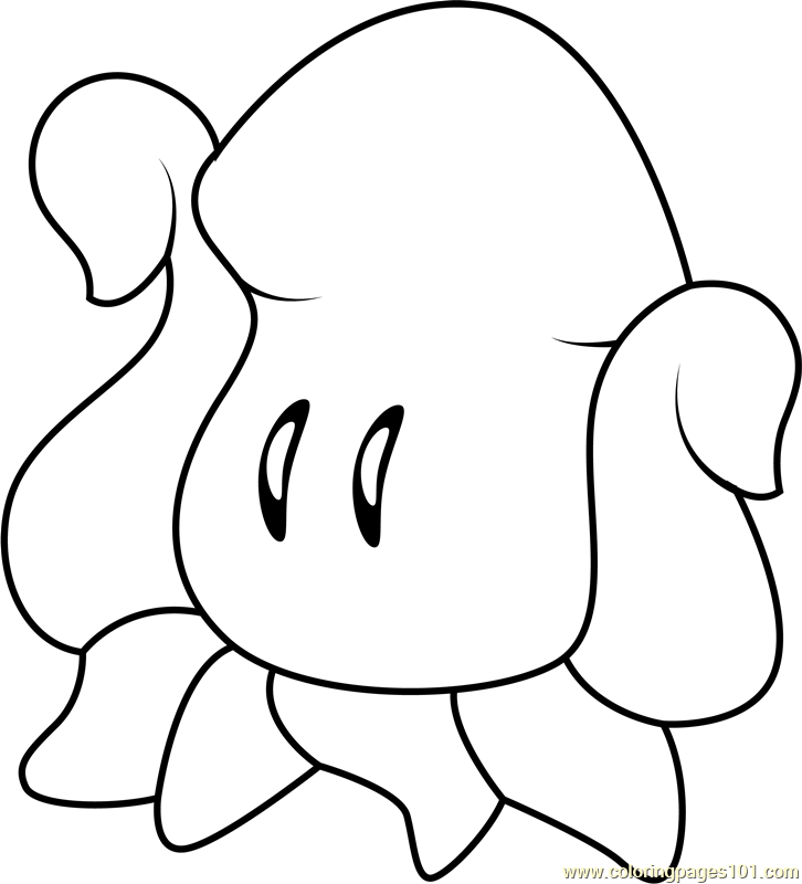 squishy coloring page