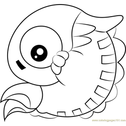 Chameleo Arm coloring page