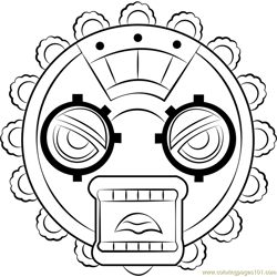 Great Gear Free Coloring Page for Kids
