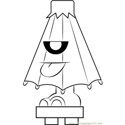 Jumpershoot coloring page