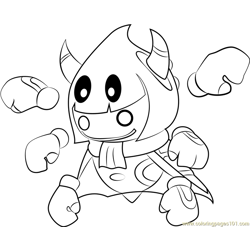Taranza Free Coloring Page for Kids