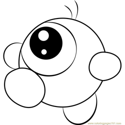 Waddle Doo Free Coloring Page for Kids