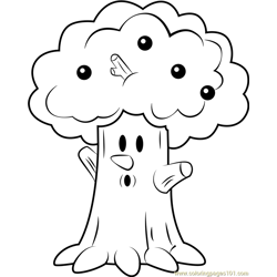 Whispy Woods coloring page