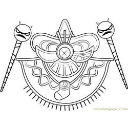 Yin Yarn Free Coloring Page for Kids