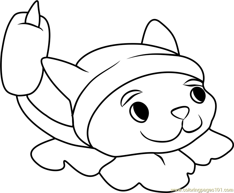 cattail coloring page