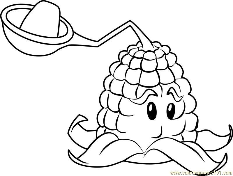 Kernel-pult Coloring Page