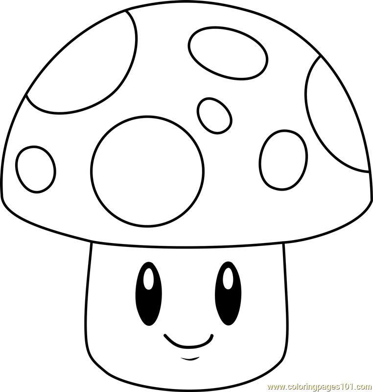 Sun-shroom Coloring Page - Free Plants vs. Zombies ...