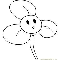 Blover Free Coloring Page for Kids