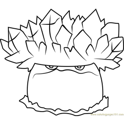 Cob Cannon Coloring Page Free Plants Vs Zombies