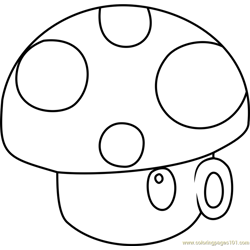 shroom coloring pages - photo#33