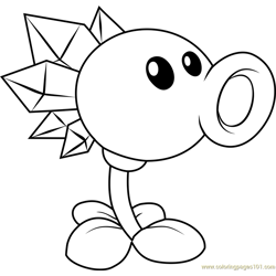 Snow Pea coloring page
