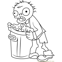 Trash Can Zombie