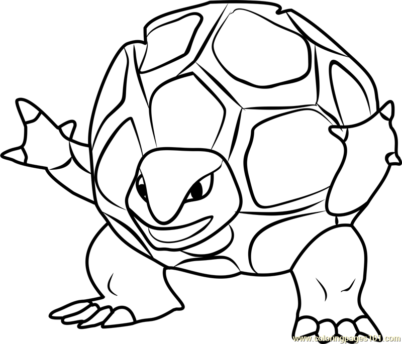 Pokemon Turtles Pokemon Turtles Coloring Pages