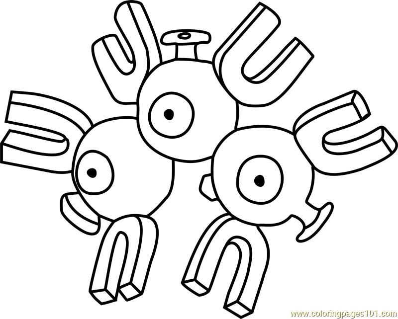 magnets coloring pages - photo#29