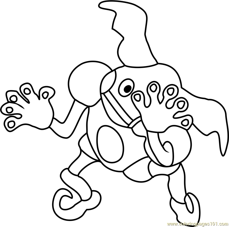 pokemon muk coloring pages - photo#27