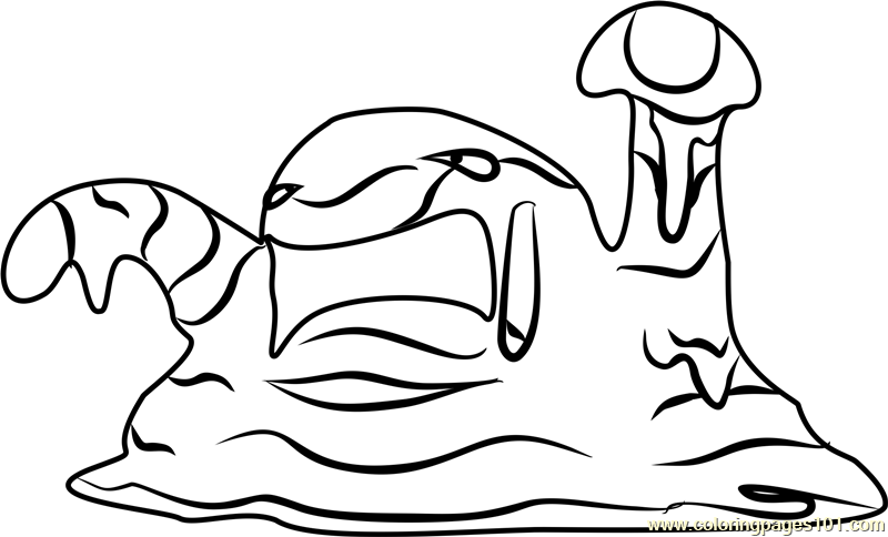 pokemon muk coloring pages - photo#2
