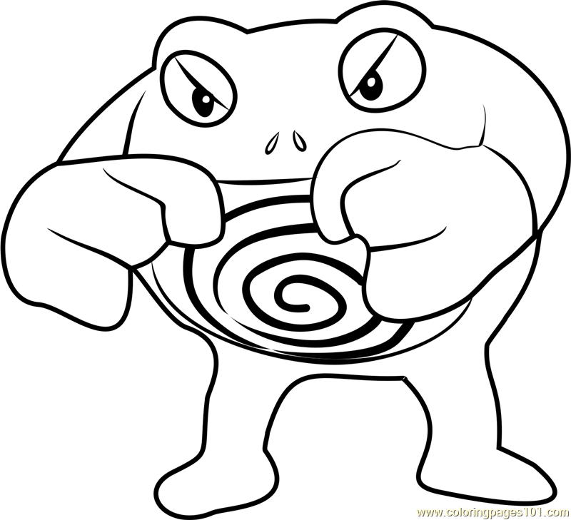 pokemon poliwag coloring pages - photo#23