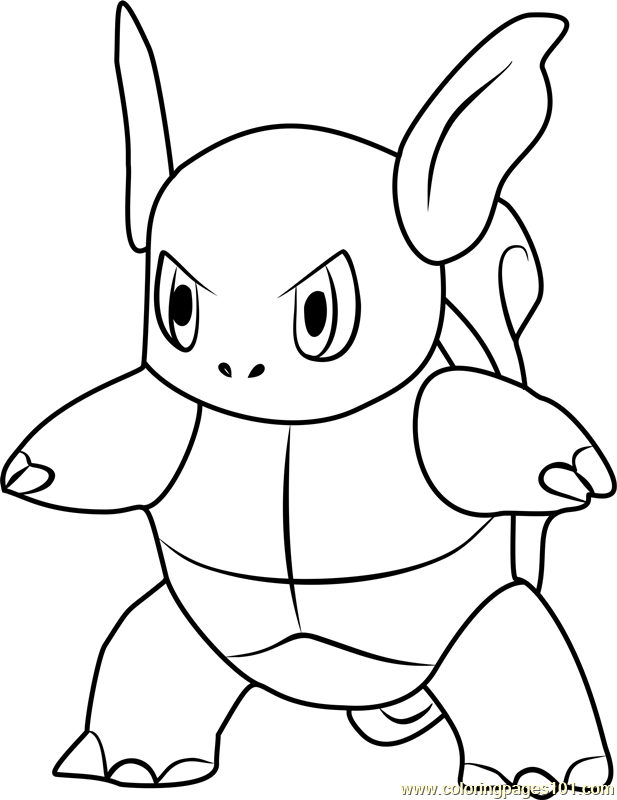 pokemon coloring pages electabuzz - photo#35