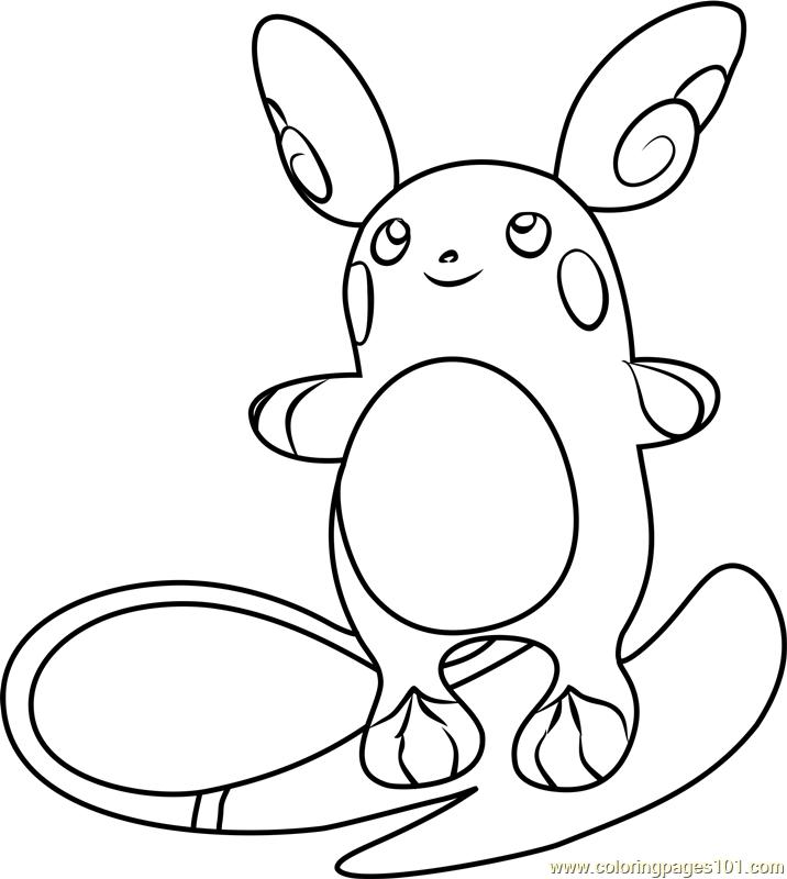 raichu coloring pages 5 raichu worksheets for kids