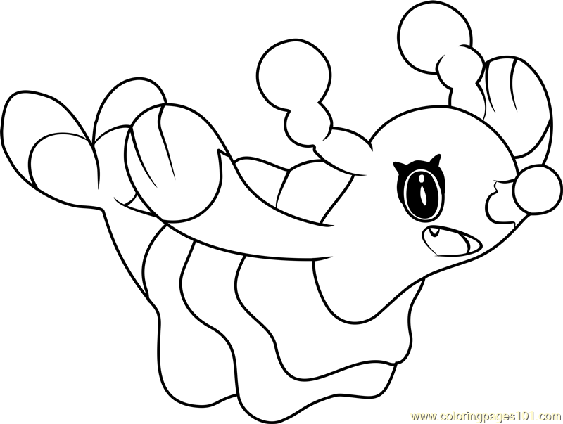 Brionne Pokemon Sun and Moon Coloring