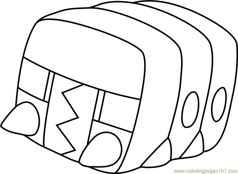 Pokemon Litten Coloring Page Sketch