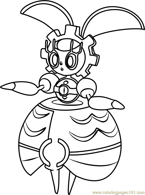 Tapu lele pokemon sun and moon coloring pages sketch for Pokemon sun and moon coloring pages