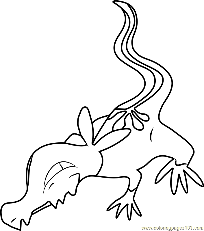 Yungoos Pokemon Sun and Moon Coloring Page - Free Pokémon Sun and ...