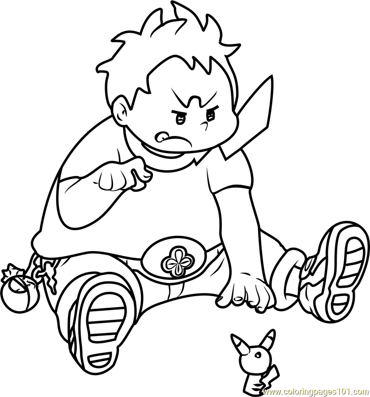 Sophocles Pokemon Sun And Moon Coloring Page