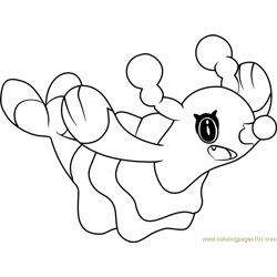 Brionne Pokemon Sun and Moon Free Coloring Page for Kids