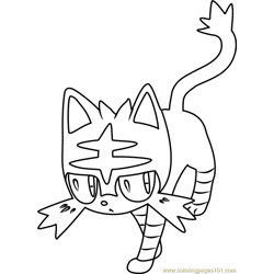 litten coloring pages 1 litten worksheets for kids