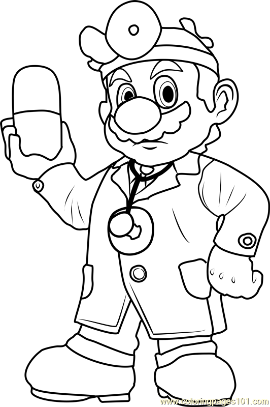 online mario coloring pages - photo#28