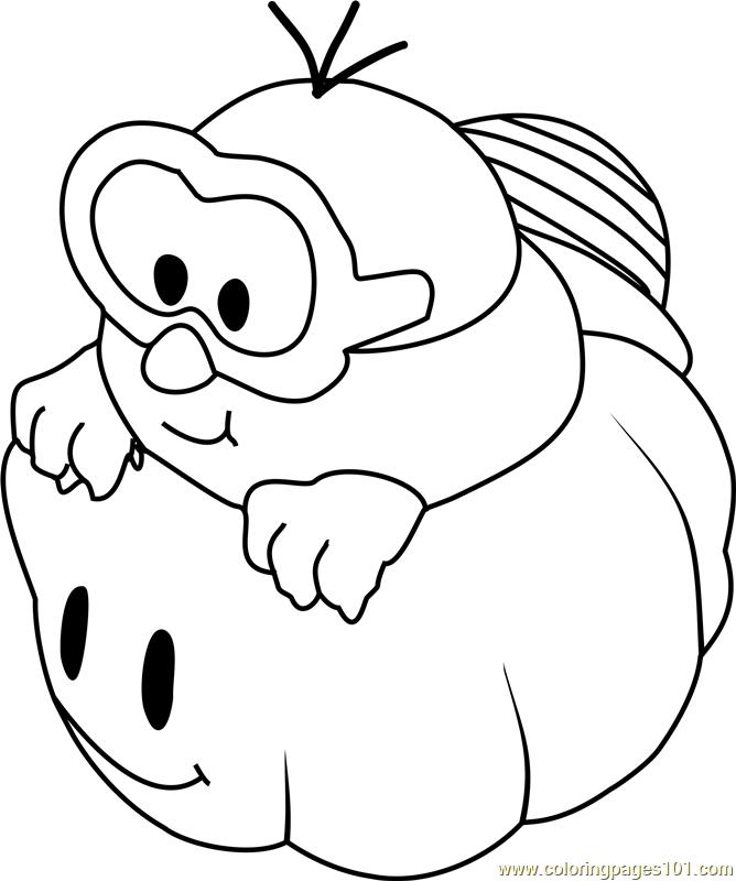 Lakitu Coloring Page - Free Super Mario Coloring Pages ...