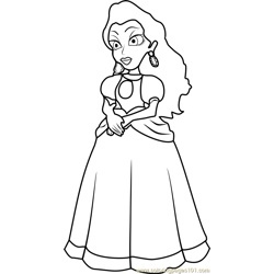 Pauline coloring page