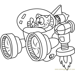 Tatanga Free Coloring Page for Kids