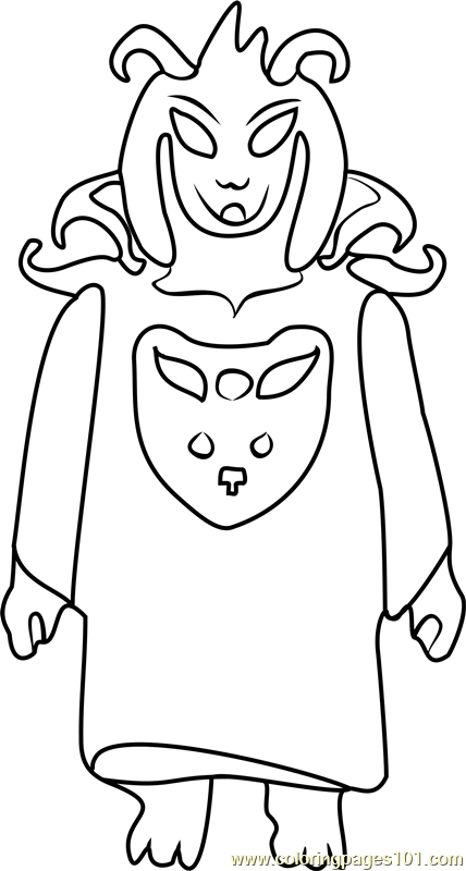 Asriel Dreemurr Undertale Coloring