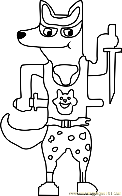 doggo undertale coloring page
